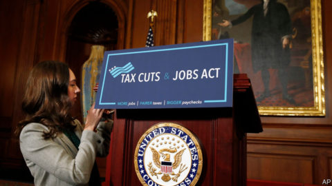 Some fights about the Tax Cuts and Jobs Act seem over
