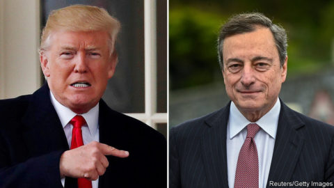 The next economic battlegroundDonald Trump takes aim at Mario Draghi over interest rates