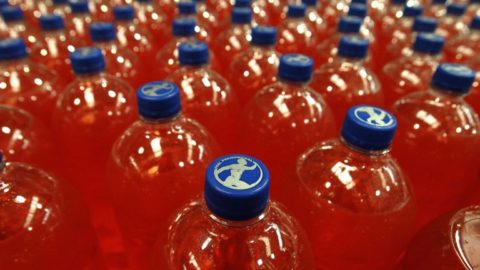 Tax on sugary drinks takes fizz out of Irn-Bru parent's profits                                                                              AG Barr shakes the market as it reveals a combination of factors behind an expected fall in revenue and annual profits.